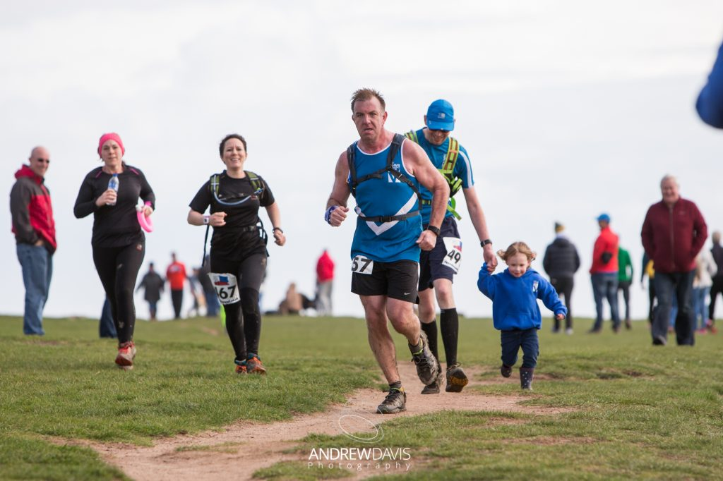 Vale Coastal Ultra 2017. From Penarth, just outside Cardiff and Porthkerry, near Barry to Ogmore-by-Sea, Bridgend. Photographed by Andrew Davis Photography at Nash Point Lighthouse and at Ogmore-by-Sea.