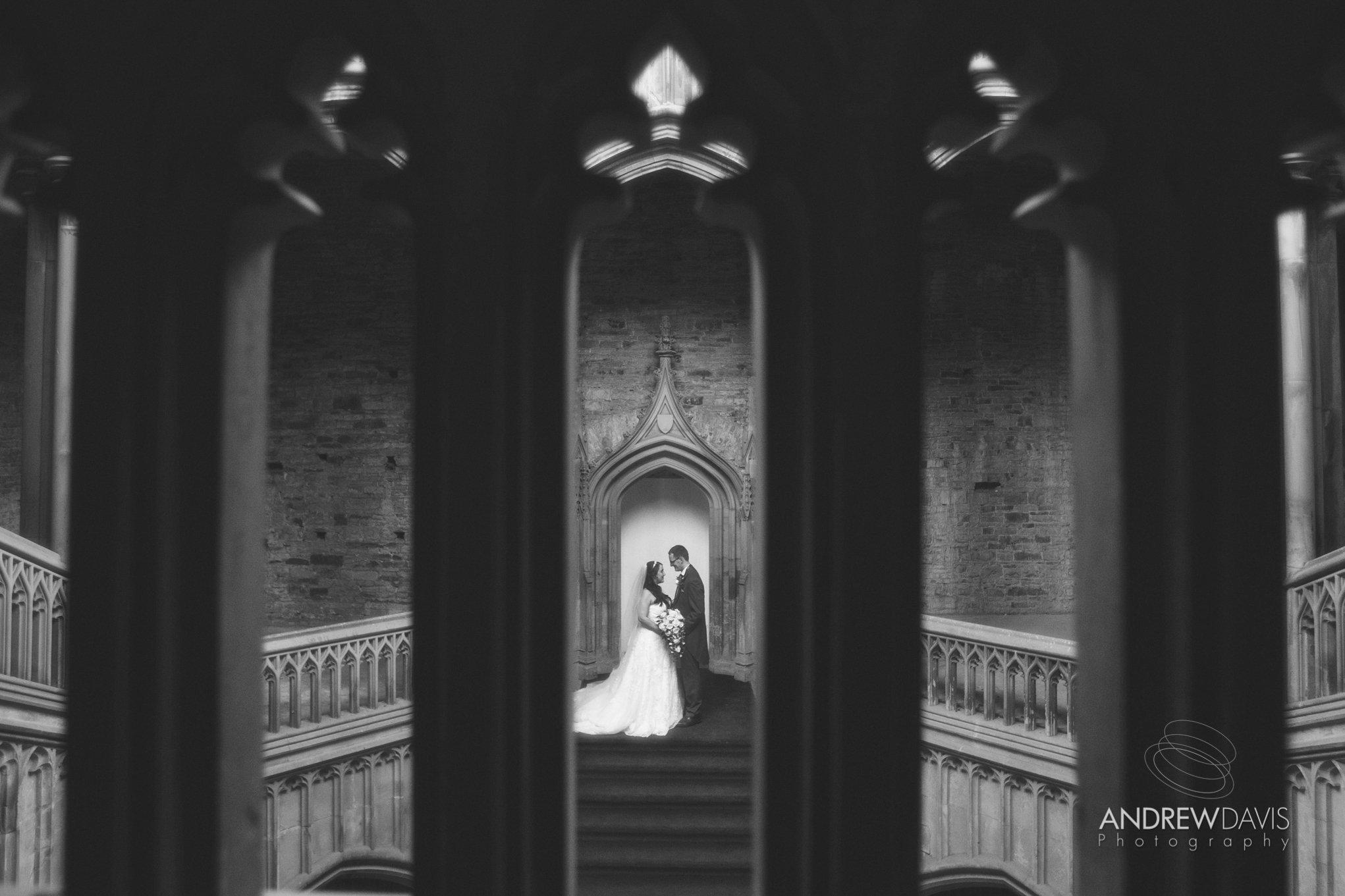 Samantha & Michael at Margam Castle. By Andrew Davis Photography, Pencoed near Bridgend